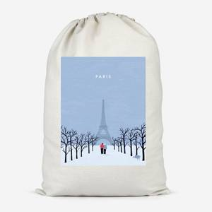 Paris Cotton Storage Bag