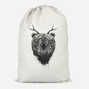 Dear Bear Cotton Storage Bag