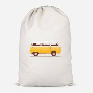 Yellow Van Cotton Storage Bag