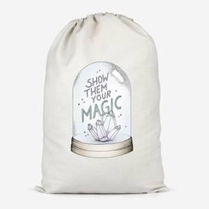 Show Them Your Magic Cotton Storage Bag