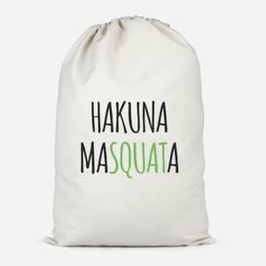 Hakuna MaSquata Cotton Storage Bag
