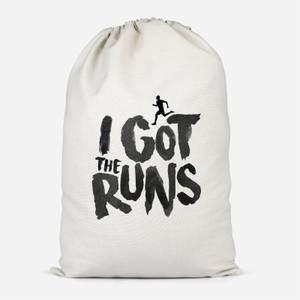 I Got The Runs Cotton Storage Bag