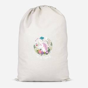 I'm So Fancy Cotton Storage Bag