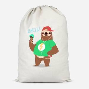 Sloth Chill Cotton Storage Bag