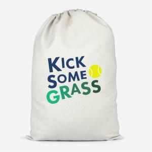Kick Some Grass Cotton Storage Bag