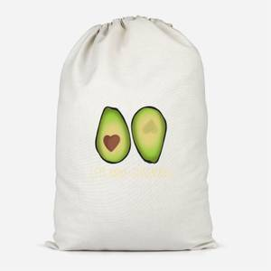 Lets Make Guacamole Cotton Storage Bag