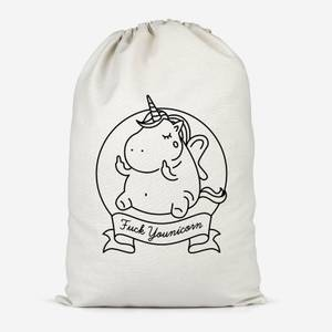 F*** Younicorn Cotton Storage Bag