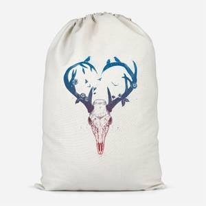 Antlers Cotton Storage Bag