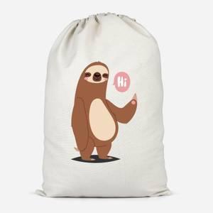 Sloth Hi Cotton Storage Bag