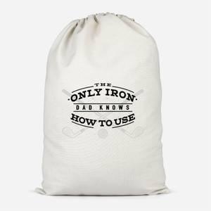 Dad's Only Iron Cotton Storage Bag