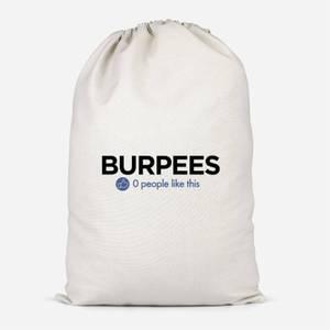 Nobody Likes Burpees Cotton Storage Bag