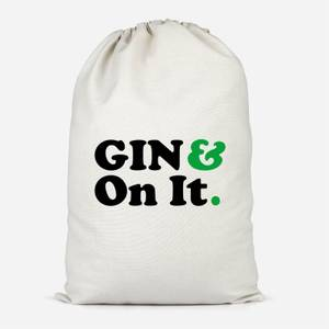 Gin & On It Cotton Storage Bag