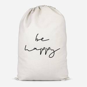 Be Happy Cotton Storage Bag