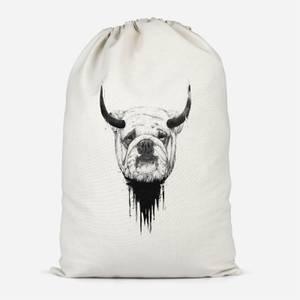 English Bulldog Cotton Storage Bag
