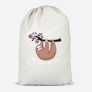 My Spirit Animal Cotton Storage Bag