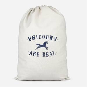 Unicorns Are Real Cotton Storage Bag