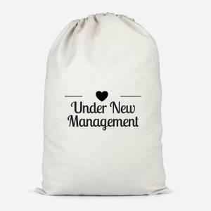Under New Management Cotton Storage Bag