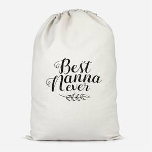 Best Nanna Ever Cotton Storage Bag