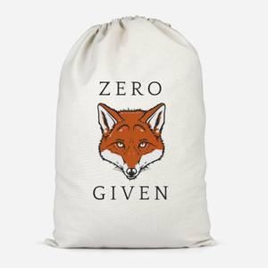 Zero Fox Given Cotton Storage Bag