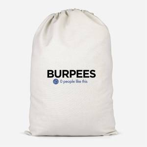 No One Likes Burpees Cotton Storage Bag