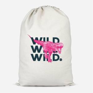 Wild Dinosaur Cotton Storage Bag