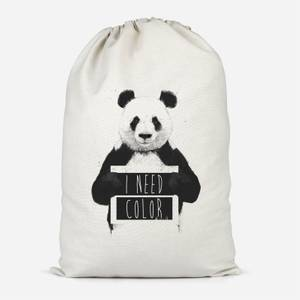 I Need Color Cotton Storage Bag