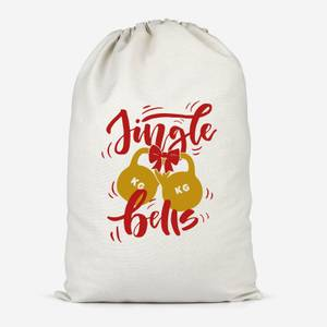 Jingle (Kettle) Bells Cotton Storage Bag