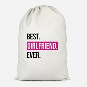 Best Girlfriend Ever Cotton Storage Bag