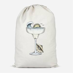 Summer Cocktail Cotton Storage Bag
