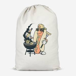 Hot Dog Grilling Cotton Storage Bag