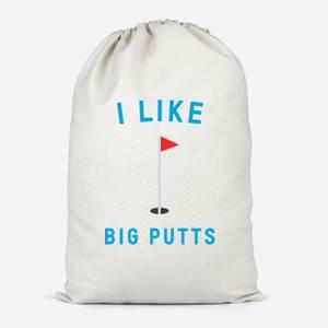 I Like Big Putts Cotton Storage Bag
