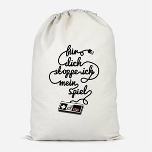 I'd Pause My Game For You (DE) Cotton Storage Bag