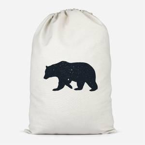 Bear Cotton Storage Bag