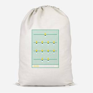 Brazil Fooseball Cotton Storage Bag
