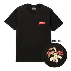 T-Shirt Looney Tunes ACME Capsule Coyote Visage - Noir