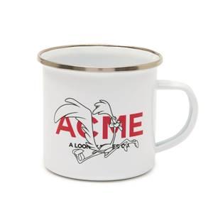 Looney Tunes ACME Capsule Road Runner Enamel Mug - White