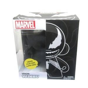 Kidrobot Munnyworld 7 Inch Marvel Venom Munny DIY Vinyl Figure