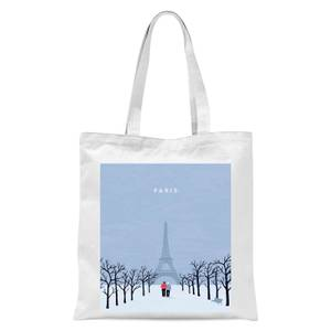 Paris Tote Bag - White