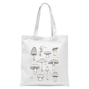 Mushrooms Tote Bag - White