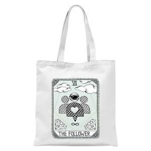 The Follower Tote Bag - White