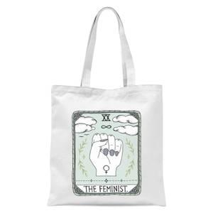 The Feminist Tote Bag - White