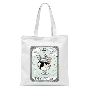 The Cheat Day Tote Bag - White