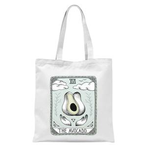 The Avocado Tote Bag - White