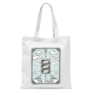 The Power Tote Bag - White