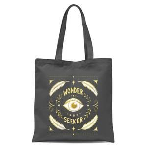 Wonder Seeker Tote Bag - Grey
