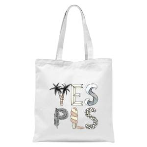 Yes Please Tote Bag - White