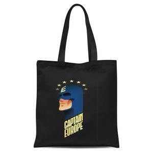 Captain Europe Tote Bag - Black