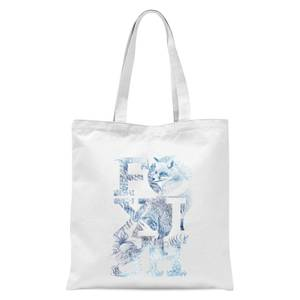 Foxish Tote Bag - White