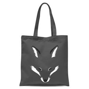 Foxy Shape Tote Bag - Grey
