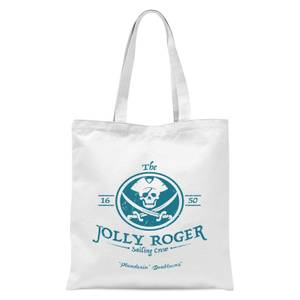 The Jolly Roger Tote Bag - White